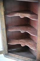 Rustic Oak Corner Cupboard (10 of 13)