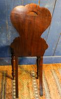 Pair of 19th Century Regency Style Hall Chairs (6 of 10)