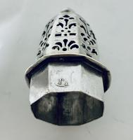 Small 18th Century Solid Sterling Silver Sugar Caster Shaker by Thomas Bamford (12 of 13)