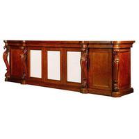 Large George IV, Plum Pudding Mahogany Side Cabinet (4 of 4)