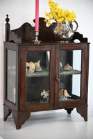 Vintage Wall Mount Glazed Cabinet (3 of 9)