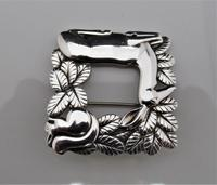 Georg Jensen/Arno Malinowski Silver Deer & Squirrel Brooch (7 of 7)