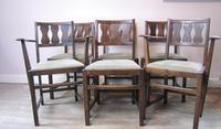 Set of 6 Early Ercol Dining Chairs (2 of 11)