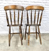 Pair of Antique Windsor Spindleback Chairs (6 of 6)