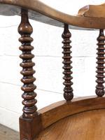 Antique Captain Style Elm Armchair (5 of 12)