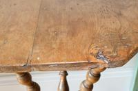 Antique Gypsy Table with Bobbin Legs c.1900 (13 of 16)