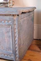 18th Century Painted Pine Coffer (6 of 28)
