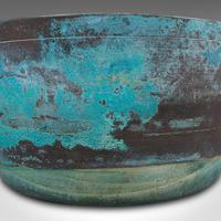 Antique Decorative Jam Pan, English, Brass, Planter, Jardiniere, Victorian, 1900 (10 of 12)