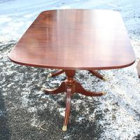 1960s Mahogany Dend Dining Table with 4 Leaves (3 of 4)