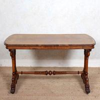 Walnut Writing Table 19th Century (2 of 14)