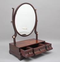 Early 19th Century Mahogany Dressing Mirror (2 of 9)