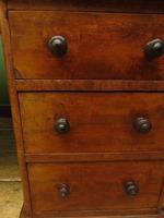 Antique Satin Birch Pedestal Desk by Heal & Sons (16 of 21)