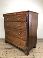 Antique 19th Century Oak & Mahogany Chest of Drawers (9 of 12)