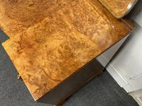 Stylish Art Deco Burr Walnut Dressing Table (9 of 20)