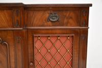 Regency Style Mahogany Grill Front Sideboard (10 of 12)