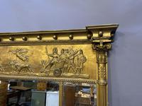 19th Century Large Gilt Overmantle Mirror (12 of 16)