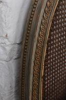 Lovely Carved Gilded Frame French King Size Bed (7 of 7)