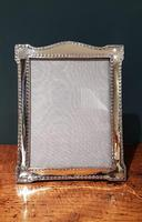 Large Antique Chester Silver Photo Frame (2 of 5)