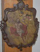 17th Century Christ Ascending Plaque Italian / French (2 of 8)