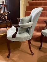 Pair of Late 18th Century Hepplewhite Period Library Armchairs (5 of 6)