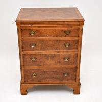 Georgian Style Burr Walnut Chest of Drawers c.1930 (5 of 9)