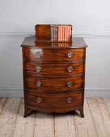 George III Mahogany Bowfront Chest of Drawers (4 of 5)