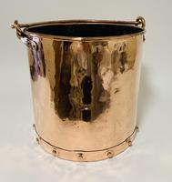 Antique Riveted Copper Bucket (10 of 14)