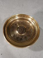 Early 19th Century Turned Brass Tazza (5 of 5)
