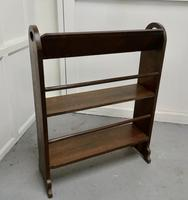 Another Open Front Oak Bookcase (4 of 4)