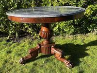 Flame Mahogany Gueridon Centre Table (3 of 7)