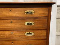 Very Rare Double Military Chest of Drawers (4 of 21)