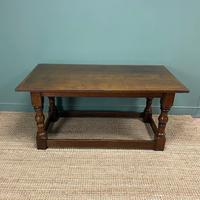 Period Oak Antique Refectory Table