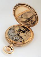 1920s Minerva full hunter pocket watch originally retailed by Porte & Markle Winnipeg (5 of 6)