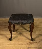 Useful Victorian Rosewood Stool (7 of 11)