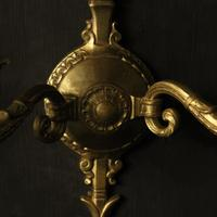 French Pair of Empire Antique Wall Lights (8 of 9)