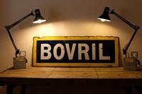Large Antique Bovril Vitreous Enamel Sign (11 of 13)