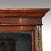William IV Rosewood Cupboard Bookcase (6 of 9)
