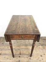 Small Victorian Welsh Oak Pembroke Table (8 of 18)