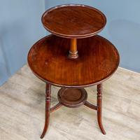 Aesthetic Movement Dumbwaiter Table (2 of 8)