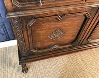 Oak Twist Leg Bookcase (9 of 13)