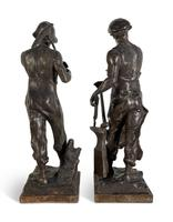 Pair of Spelter Figures (3 of 4)