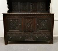 Early 18th Century Carved Oak Buffet Sideboard Dresser (8 of 14)