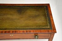Antique Sheraton Period Inlaid Mahogany Writing Table Desk (10 of 11)