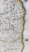 Johann Blaeu Map of Northumberland 1648 (2 of 6)