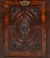 Good Quality Carved Walnut Cabinet (2 of 8)