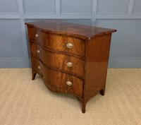 Georgian Flame Mahogany Serpentine Chest of Drawers (14 of 15)