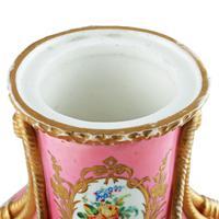 Victorian Coalport Porcelain Vase & Cover (7 of 8)