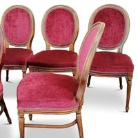 Set of Six Victorian Walnut Balloon Back Chairs (4 of 6)