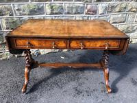 Quality Antique Burr Walnut Sofa Table