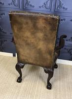 Georgian Style Mahogany Desk Chair c.1920 (14 of 15)